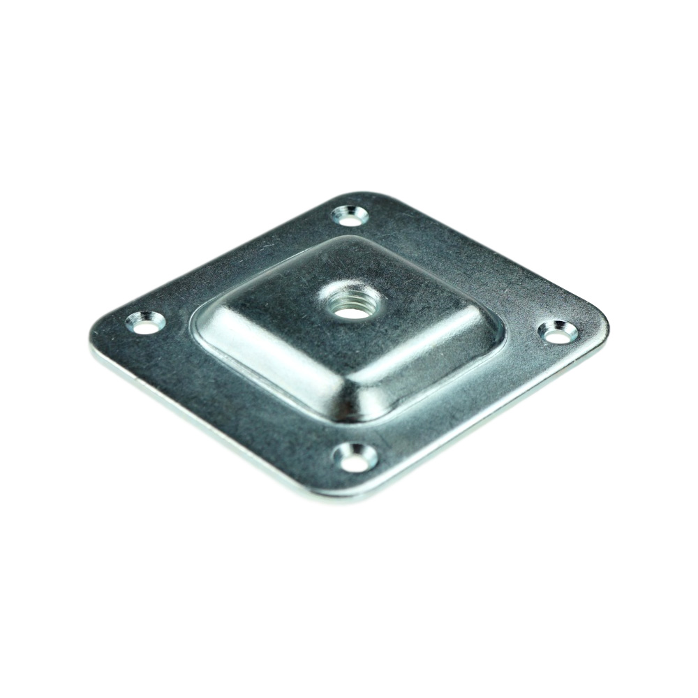 Britwood Metal Fixing Plates M8 66 x 58 x 1.8 mm